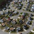 American Culdesac Aerial - Stock Photo