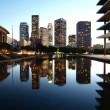 Downtown LA Reflecting Pond — Stock Photo