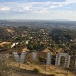 Above the Hollywood Sign — Stock Photo