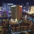 Stock Photo: Vegas Night Aerial