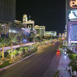 Las Vegas Blvd Night — Stock Photo #7994636