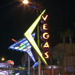Vegas Neon Attractions - Stock Photo
