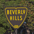 Stockfoto: Beverly Hills Sign