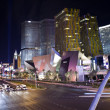 Las Vegas Blvd Night - Stock Photo