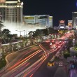 Las Vegas Blvd Night - Foto Stock