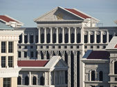 Caesars Palace Architecture — Stock Photo