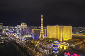 Paris Vegas Night — Stock Photo