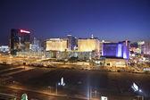 Las Vegas Center of the Strip at Night — Stock Photo