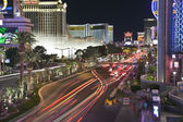 Las Vegas Blvd Night — Stock Photo
