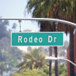 Stock Photo: Rodeo Drive Sign