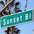 Sunset Boulevard - Stock Photo