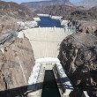 Stock Photo: Hoover Dam Bridge View