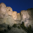 Mt. Rushmore Night — Stock Photo