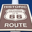 Historic Route 66 Street Sign — Stock Photo #8006626