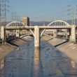 Stock Photo: Los Angeles River