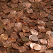Stock Photo: Pile of Pennies