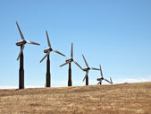 Windmills and Grasslands — Stock Photo