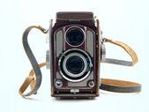 自然のままのビンテージ カメラ — ストック写真