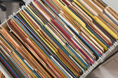 Colorful Files — Stock Photo