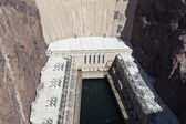 Hoover Dam Hydroelectric Plant — Stock Photo