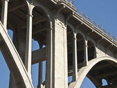 Pasadena California Colorado Blvd Bridge — Stock Photo