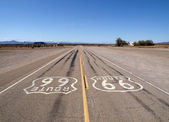 Lonely Route 66 — Stock Photo
