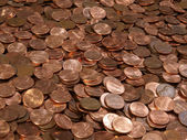 Pile of Pennies — Stock Photo
