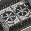 Big Commercial Air Conditioners - Stock Photo