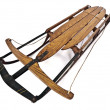 Stock Photo: 1940's Snow Sled