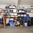 Stock Photo: Garage Mess