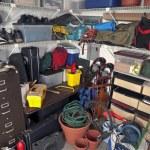 Messy Garage Storage — Stock Photo #8017790