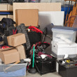 Stock Photo: Garage Storage