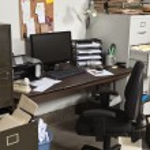 Untidy Office — Stock Photo