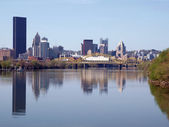 Pittsburgh in pennsylvania usa — Foto Stock