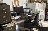 Untidy Office — Stock Photo