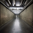 Government Basement Tunnel - Stock Photo