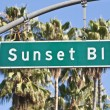 Sunset Boulevard Sign — Stock Photo #8024581