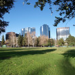 Urban Suburban Park - Stock Photo