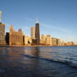 Chicago Beach Front - Stock Photo