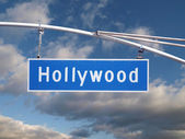 Hollywood Signage — Stock Photo