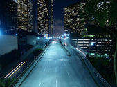 Downtown Los Angeles Night — Stock Photo