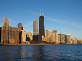 Chicago morgon — Stockfoto