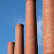 Smokestack Row — Stock Photo #8073048