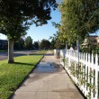 Picket Fence — Stock Photo #8073127