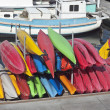 Royalty-Free Stock Photo: California Kayaks