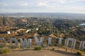 Behind the Hollywood Sign — Stock Photo