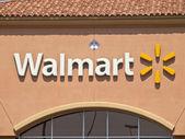 Suburban Walmart Sign — Stock Photo