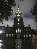 Noite chuvosa do salão da independência — Fotografia Stock