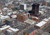 Billings Montana Aerial — Foto de Stock