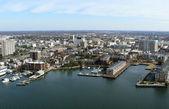 Virginia Coast Aerial — Stock Photo